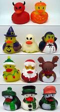 Halloween & X-Mas Badeente / rubber duck - verschiedene Auswahl - NEU - B-Ware