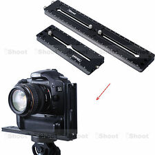 2 iShoot Plate =Vertical Quick Release Plate Camera Bracket for Tripod Ball Head