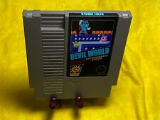 Devil World for NES Nintendo English Game NTSC Reproduction Repro FUN GAME!!!!!!