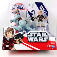 Star Wars Hoth Han Solo w/ TaunTaun Playskool Galactic Heroes action Figure gift