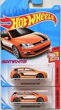 HOT WHEELS 2018 THEN AND NOW VOLKSWAGEN GOLF MK7 COLOR VARIATION