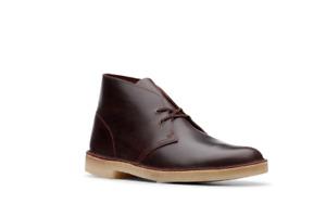 NEW! CLARKS ORIGINALS DESERT BOOT Men's Size 12 M Chestnut Leather