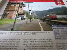 Archiv  Eisenbahnstrecken 801 Flieden Gemünden