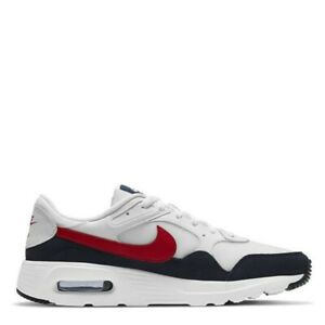 Nike Air Max SC White Red Genuine Trainers Casual Shoes UK stock Mens