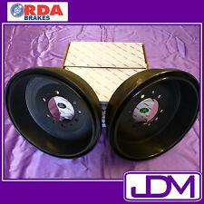 RDA Rear Brake Drums FITS TOYOTA HILUX 2WD GGN15R KUN16R TGN16R 4/2005 - ONWARDS