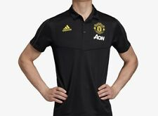 Manchester United 2019/2020 Polo Training Football Shirt Jersey Adidas Size M