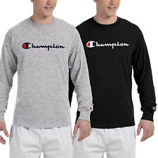 Brand New Classic Champion Men's Long Sleeve T Shirt (S-XL)