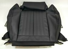 NEW GENUINE AUDI A6 C7 A7 LEFT FRONT BLACK LEATHER SPORTS SEAT BASE COVER