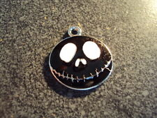 """Colorful """"Nightmare Before Christmas"""" Black Pendant New"""
