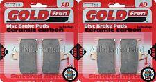 GOLDFREN FRONT BRAKE PADS (2x Sets) for: HONDA CBR900 (918cc) FIREBLADE .(94-97)