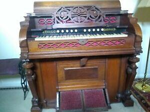 Antique Cottage Organ J. Estey & Co