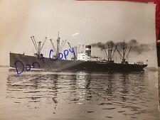 "Print / Photo of Vintage Ship 14"" X 11""  Agfa paper"