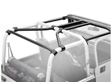 Jeep Wrangler TJ SRC Roll Cage Kit 1997-2006 Black Smittybilt 76900