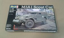 REVELL 1/35 White M3A1 Scout Car US WWII Model kit Bausatz maquette 03078