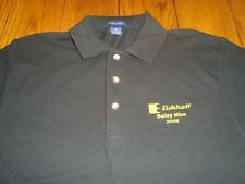 Eickhoff Bailey Mine 2008 (Coal Mining) Embroidered Black S/S Polo - Size M