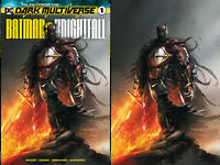 Tales From The Dark Multiverse Batman Knightfall 1 Francesco Mattina Set Variant