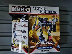Kre-O Transformers Micro Changers Combiners Menasor Hasbro kreo blocks