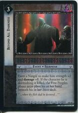 Lord Of The Rings CCG Foil Card SoG 8.R68 Beyond All Darkness