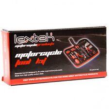 LEXTEK Underseat Emergency Travel Mini Tool Kit for Motorcycle & Scooters