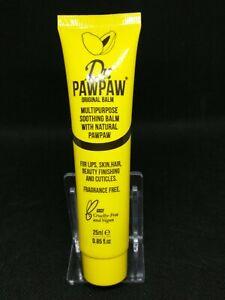 Dr Paw Paw Original Balm Multipurpose Soothing Balm 25ml - NEW & SEALED