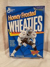 VINTAGE 1989 Deion Sanders 12 Oz. Honey Frosted Wheaties Box, Dallas Cowboys!