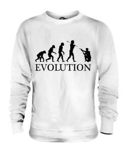 Us Polizist Evolution des Menschen Unisex Pullover Herren Damen Geschenk Lustig
