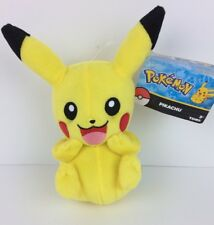 "Pokemon Pikachu Authentic Official Tomy Licensed 8""  PLUSH New Tags 3+"