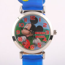 GENUINE DISNEY MICKEY MOUSE 3D SILICONE STRIPE CHILD KIND UHR MK-3K1119P-026BE