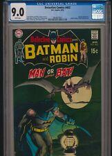 DC DETECTIVE COMICS #402 1970 CGC 9.0 WP MAN-BAT APP NEAL ADAMS BATMAN ART