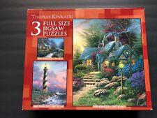 Thomas Kinkade Painter of Light 3 Full Size Jigsaw Puzzles