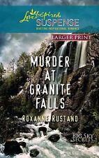 LP Love Inspired Suspense: Murder at Granite Falls by Roxanne Rustand
