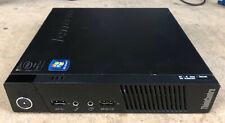 Lenovo ThinkCenter M93p Tiny Desktop Intel Core i5-4570T 2.90GhZ - 8GB RAM