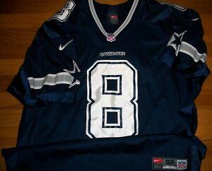 1999 Dallas Cowboys Troy Aikman Authentic Game Jersey Sz 52 Pro Line Nike Sewn