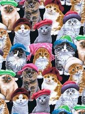 WOMEN'S SURGICAL_SCRUB HAT_cats kittens in hats_ berets_stocking caps_cute