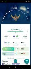 Phantump Pokemon Go Trading in Game