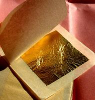 24 Carat Pure Gold Leaf-Edible Gold Leaf Sheets-UK Dispatch