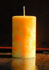 200 hour CINNAMON SPICED BANANA Large Triple Scented Candle VEGAN & CRUELTY FREE