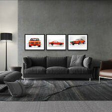 1969 PONTIAC GTO THE JUDGE 3 LARGE HIGH DEFINITION POSTER PACKAGE 18x24in