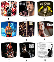 Lampshades Ideal To Match Rocky Balboa Wall Murals Rocky Balboa Movies Wall Art.