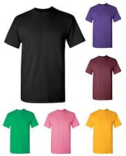 Gildan Heavy 100% Cotton Mens Bulk Plain Adult T-Shirt Tee 5000