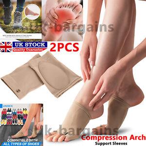 Foot Insoles Arch Support Heel Flat Feet Fallen Arch Pain Help Plantar Fasciitis