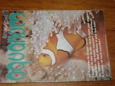 $$$ Revue aquarium magazine N°1 Poisson clown  Eau de mer  Tables aquarium