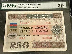 Azerbaijan State Loan Bonds 250 Manat 1993 Pick 13A