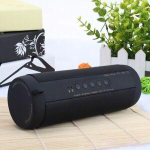 Wireless Music Bass Speaker Waterproof Portable Outdoor LED Wireless Column