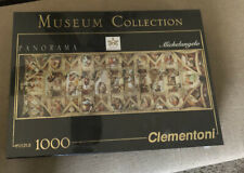 NIB CLEMENTONI PANORAMA MUSEUM COLLECTION 1000 PC PUZZLE - MICHELANGELO
