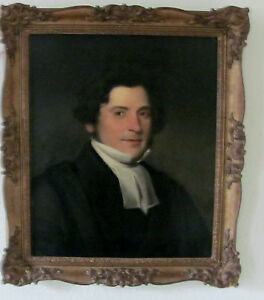 portrait of the Rev F Archer Attributed to Sir Thomas Lawrence
