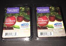 2  BETTER HOMES & GARDENS Wax Melts FRESH ORCHARD APPLES 2.5 Oz Each