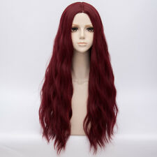 78CM Lolita Fluffy Heat Resistant Long Curly Halloween Fashion Wig+Cap Cosplay