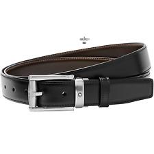 Montblanc Cintura Classic Line reversibile misura regolabile 114427