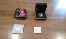 The Queen Mother Silver Proof Dollar $1 CANADA From 2002